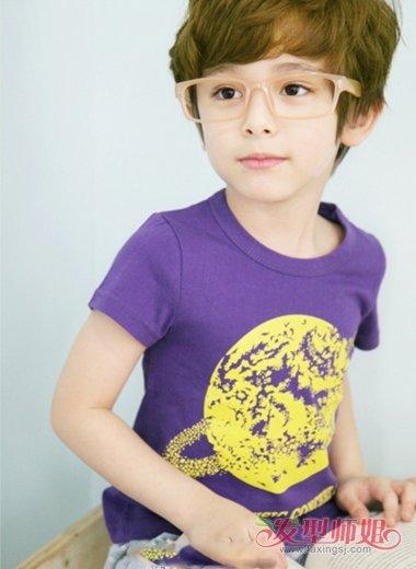 夏天3岁半男儿童时尚发型 3到4岁男孩幼儿流行发型