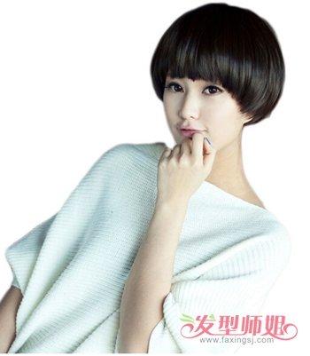长脸适合什么超短发型 长脸女生短发发型设计图片图片