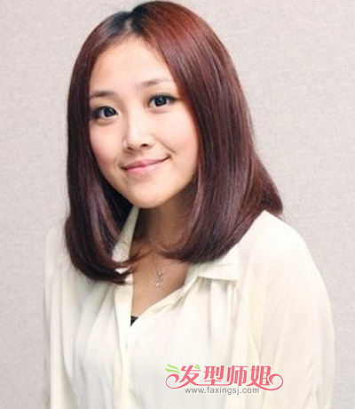少女孩适合什么短发发型 大脸适合的短发发型图片 发型师姐图片
