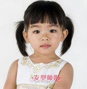 学生发型怎么梳 小学生短发扎发发型设计(2)
