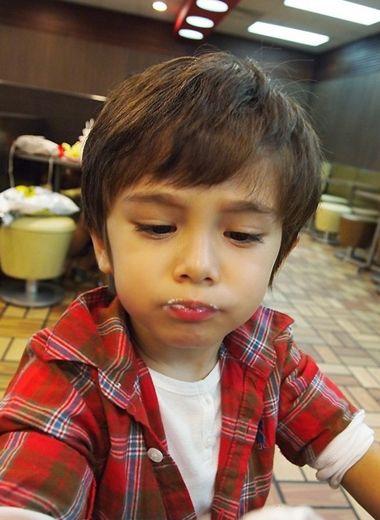 3岁小男孩发型图片及名称 3岁男孩短发发型图片图片