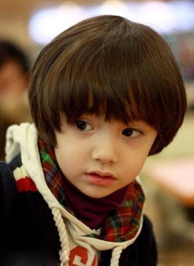 3岁小男孩发型图片及名称 3岁男孩短发发型图片(2)图片