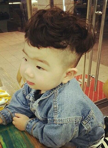 3岁小男孩发型图片及名称 3岁男孩短发发型图片 发型师姐