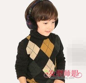 适合3岁男宝宝的发型带图片