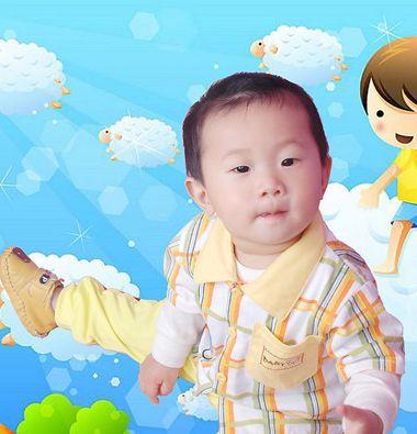 一两岁小男孩的发型 两岁男宝宝发型设计