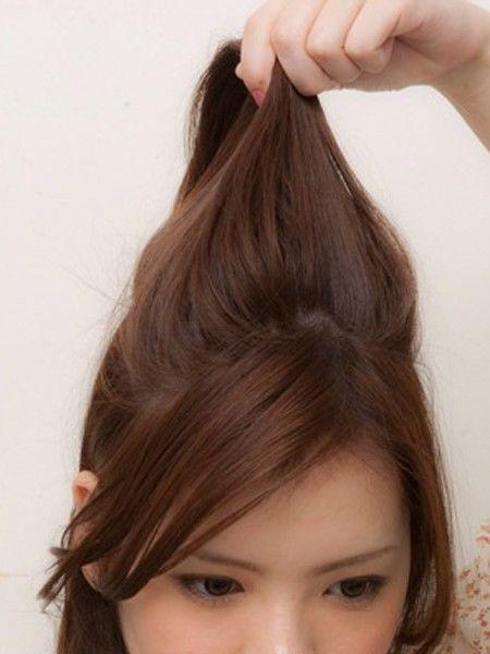 学生扎马尾刘海发型图片 扎马尾辫的刘海发型(2)图片
