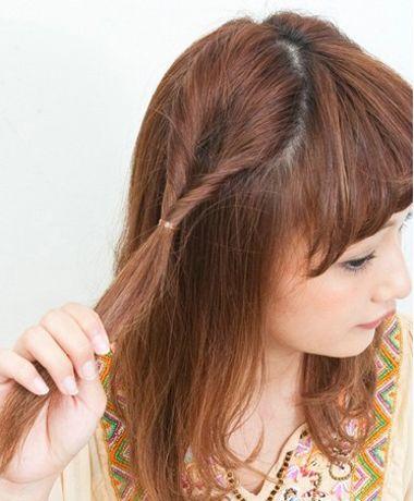 发型脸型 长脸 >> 长方脸适合梳什么头 长方形脸女孩适合梳啥头型(3)图片