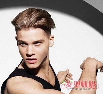 发型设计 染发 >> 2017男士最流行发型颜色