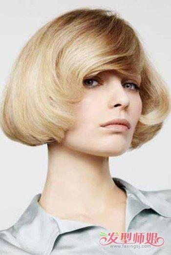 沙宣中短发烫卷好看还是烫纹理好看呢 时尚短卷发发型设计
