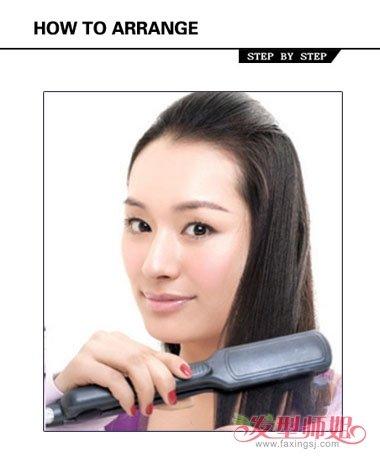 发型师如何梳马尾 简单马尾发型设计图片