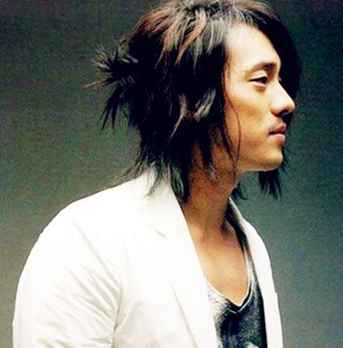 男士马尾辫发型 后面绑马尾的男生发型(2)
