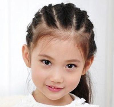 小孩子马尾辫发型 各种马尾辫发型