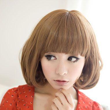 女学生剪什么短发显脸小 显脸小的学生短发(4)_发型图片
