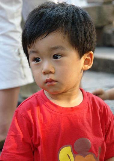 三四岁男宝宝发型好看图片图片