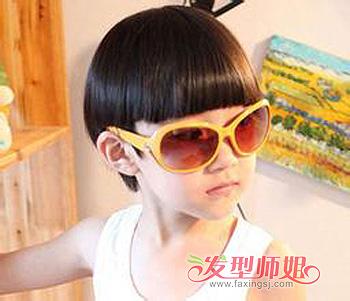 3岁男孩子发型设计 3岁男儿童短发发型图片图片