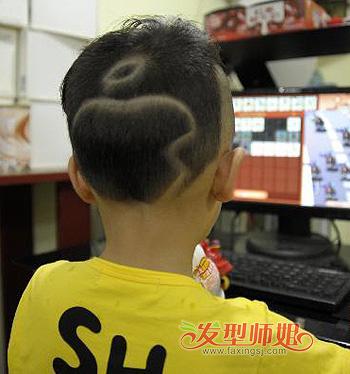 怎样设计小男孩发型 小男孩苹果发型图片(3)图片