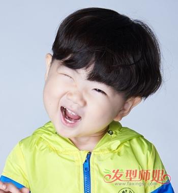 小男孩头型可爱帅萌图片