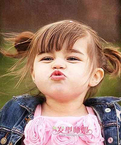 三岁的小女孩蘑菇头扎小女孩牛仔头简单蘑菇什么发型褂配女生图片