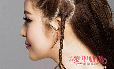 扎辫子发型,详细的步骤图解教程分享给大家