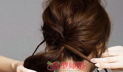 圆形脸怎样扎辫子 适合圆脸的马尾辫梳法(2)