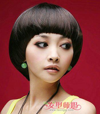 国字脸适合剪沙宣吗 国字脸适合什么样的沙宣头发型(3图片
