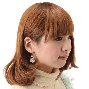 椭圆脸型适合的刘海_大脸盘适合什么短发型 脸大的短发发型(4)_发型师姐