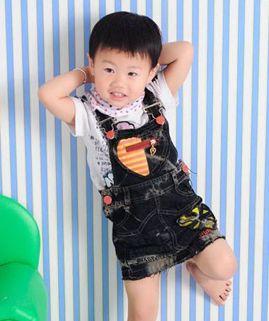 1 3岁小男孩发型图片 最流行的1到3岁小男孩发型图片