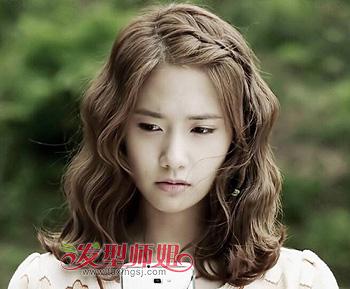 头顶发少的女生适合蛋卷发型吗 蛋卷头发型图片(3)