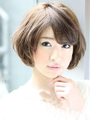 女生短发烫发波波头图片大全 短发波波头烫发_发型图片
