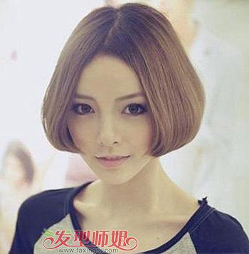 短发蘑菇头发型图片 发型师姐图片