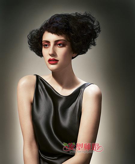 2015年女孩沙宣短发发型 时尚沙宣短发发型图片图片