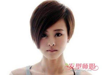 长脸女生适合直发吗 高额头长脸直发发型图片图片
