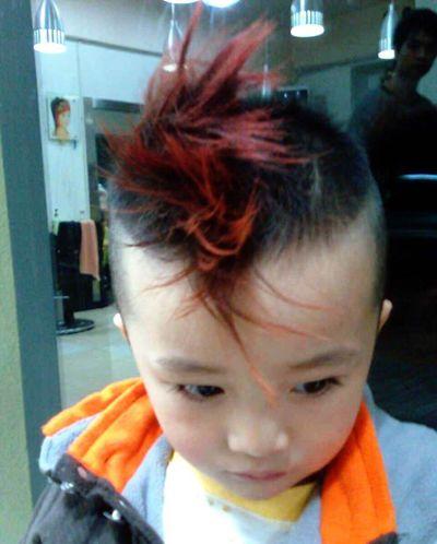 男宝宝发型有哪些 男宝宝的流行发型(2)图片
