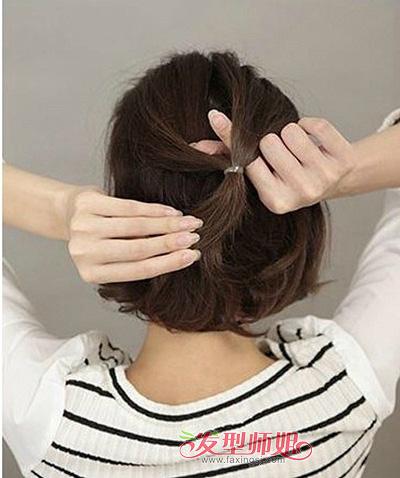 儿童蘑菇头怎么扎起来 女童蘑菇头扎发_发型师姐图片