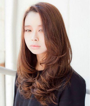圆脸长发适合什么卷发 圆脸长头发适合的卷发(4)_发型