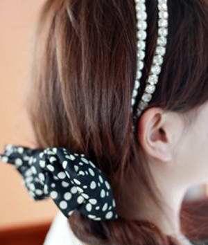 学生发型编法图解 初中女学生的发型编法