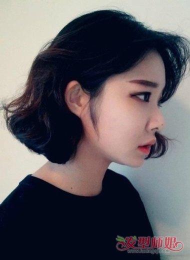 脸大的人适合什么短头发的发型 短发发型大脸图片图片