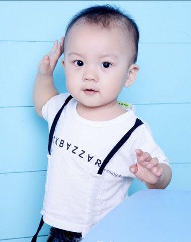 设计男宝宝发型  一百天的宝宝也只有三个月大图片