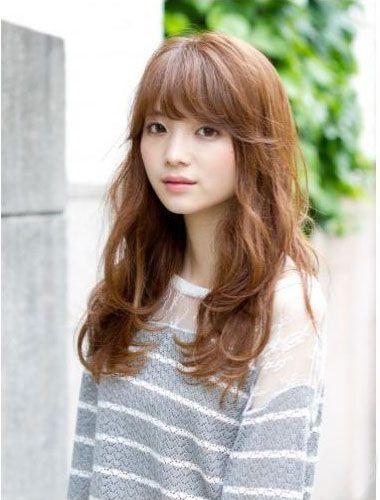中发型染发长发长脸适合什么短发v发型发型图片