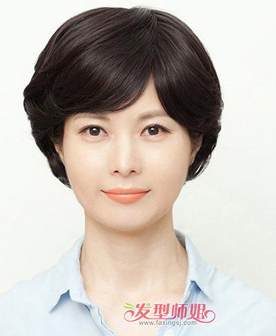 35岁大脸型的女人适合什么发型 35岁大脸女性适合的发型图片