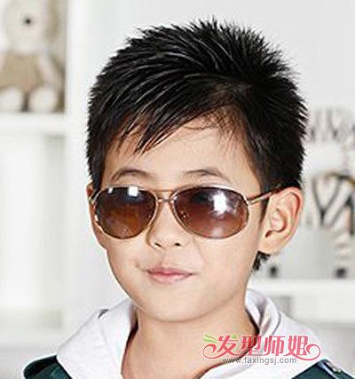 七岁小男孩的头型 七岁小男孩头型图片(2)_发型师姐