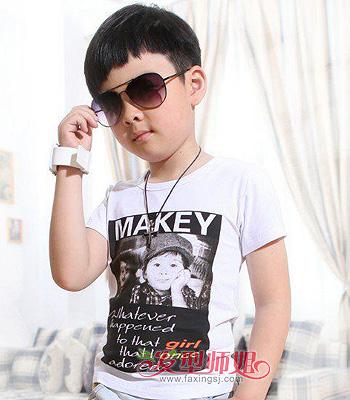 6岁男孩发型大全 6岁男宝宝发型