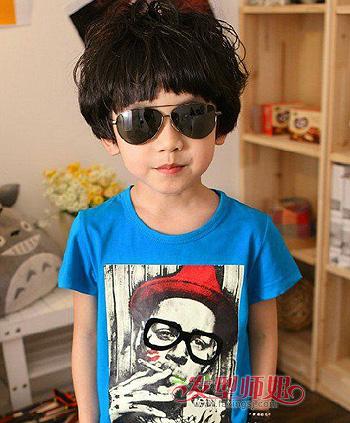 6岁男孩发型大全 6岁男宝宝发型(4)