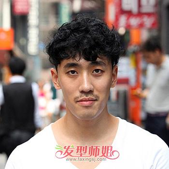 男生长脸蘑菇头发型 男生蘑菇短发发型图片(3)图片