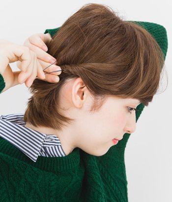发型脸型 大脸 >> 圆脸女学生怎么扎头发好看 短发大脸女学生怎样扎发图片
