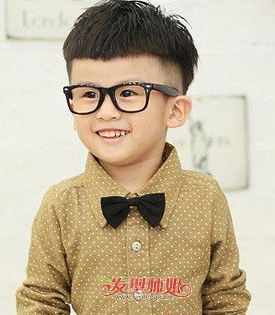 3岁小男孩发型图片(2)