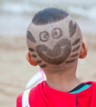 小男孩子好看的发型 阳光小男孩发型(3)