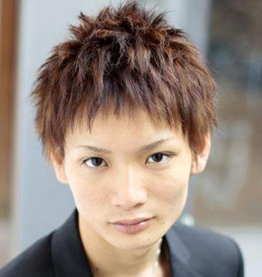 男生超短发碎发爆炸头发型图片