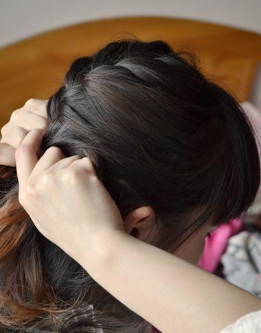 思维学生扎马尾学生简单步骤马尾步骤发型发型语文课文秋天的怀念小学导图图片