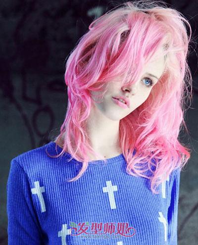染什么颜色的头发会显得人白可爱的发型图片  皮肤颜色偏黄的女孩子